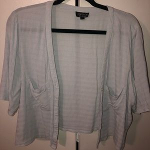 Loose Fitting Light Blue Top